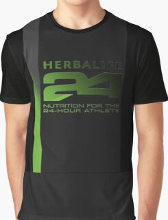 Herbalife24 Business Branded Swag Graphic T-Shirt
