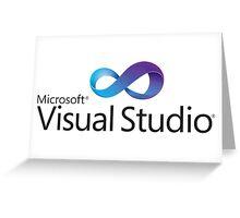 microsoft visual studio programming language Greeting Card