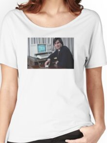 Steve Jobs and the Lisa Women's Relaxed Fit T-Shirt
