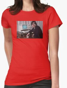 Steve Jobs and the Lisa Womens Fitted T-Shirt
