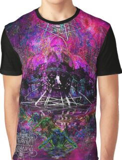 Pyramid Trinity Mind Expansion Graphic T-Shirt