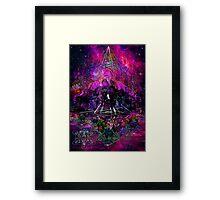 Pyramid Trinity Mind Expansion Framed Print