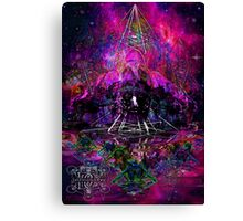 Pyramid Trinity Mind Expansion Canvas Print
