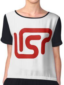 lisp programming language sticker Chiffon Top
