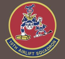 10th Airlift Squadron - US Air Force Baby Tee
