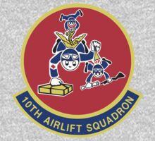 10th Airlift Squadron - US Air Force Kids Tee