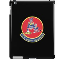 10th Airlift Squadron - US Air Force iPad Case/Skin