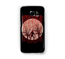 Until Dawn - Oh Death  Samsung Galaxy Case/Skin