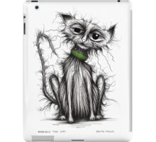 Horrible the cat iPad Case/Skin