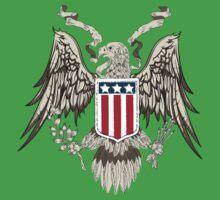 American eagle line work Baby Tee