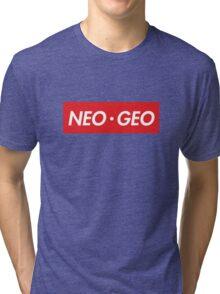 "Neo Geo ""sup"" Style Tri-blend T-Shirt"