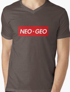 "Neo Geo ""sup"" Style Mens V-Neck T-Shirt"