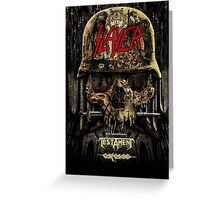 SLAYER  Greeting Card