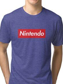"Nintendo ""sup"" style Tri-blend T-Shirt"