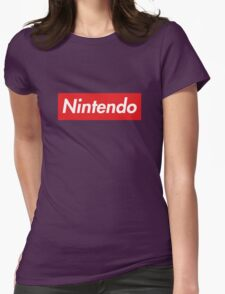 """Nintendo """"sup"""" style Womens Fitted T-Shirt"""