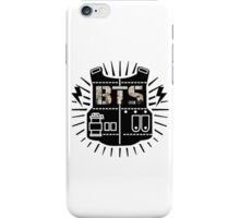 BTS logo - Cherry blossom fill iPhone Case/Skin