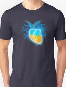 Ukrainian heart Unisex T-Shirt