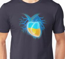 Ukrainian heart Unisex T-Shirt