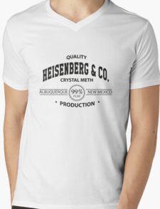 Heisenberg & Co. Mens V-Neck T-Shirt