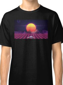 80's Space Car Classic T-Shirt