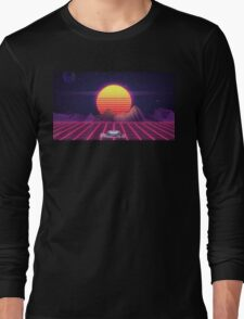 80's Space Car Long Sleeve T-Shirt