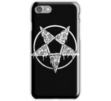 DIAL 666 FOR PIZZA  iPhone Case/Skin