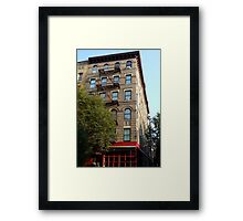 Friends Apartment Building New York NYC Framed Print