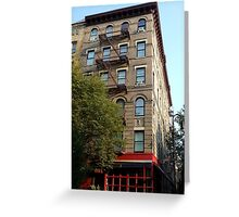 Friends Apartment Building New York NYC Greeting Card