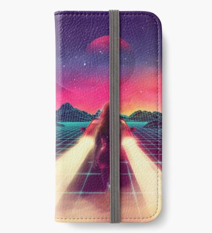 80's Space Woman iPhone Wallet/Case/Skin
