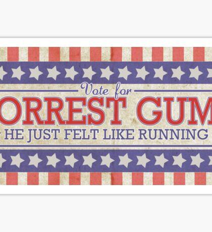 He Just Felt Like Running. Sticker