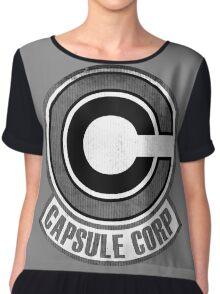 °DRAGON BALL Z° Capsule Corp V1.0 Chiffon Top