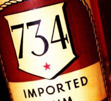 1961 Rum Sticker