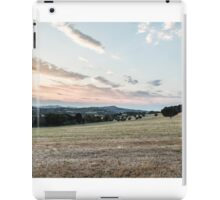 summer evening in the italian countryside iPad Case/Skin