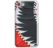 Colored Tagua Slices iPhone Case/Skin