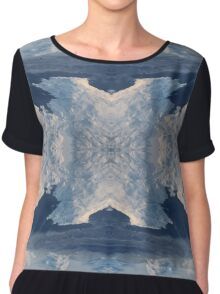 Ice Floes Chiffon Top