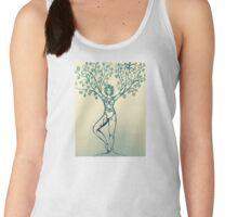 Tree pose Women's Tank Top