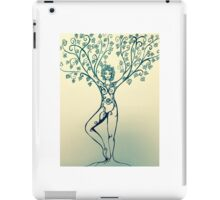 Tree pose iPad Case/Skin