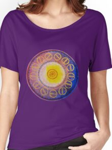 Sunset - risku Women's Relaxed Fit T-Shirt