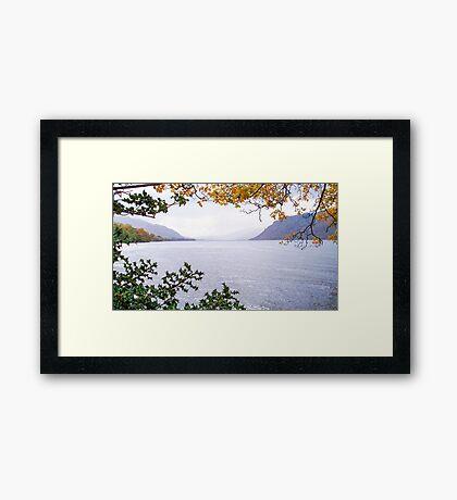 Ullswater, Lake District National Park, UK Framed Print