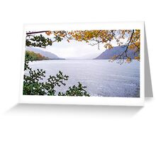 Ullswater, Lake District National Park, UK Greeting Card