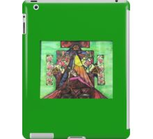 Extended side angle pose iPad Case/Skin