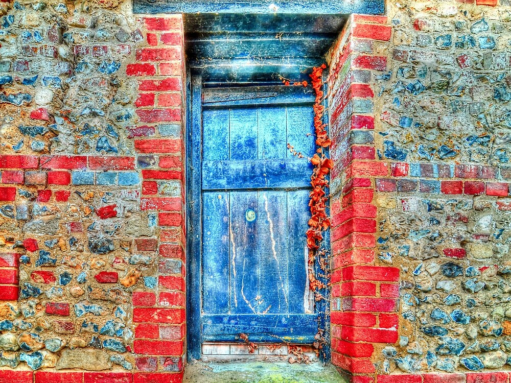 Blue Door by Stephen Frost