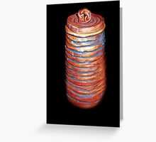 Coiled Jar Greeting Card