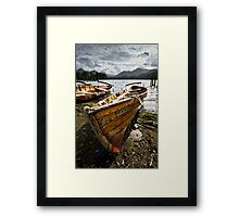 Ten to Carry Two At Derwentwater Framed Print