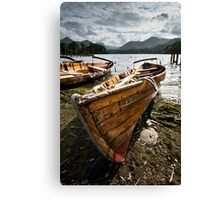Ten to Carry Two At Derwentwater Canvas Print