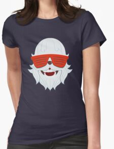 Party at Yeti's (Snow Yeti Edition) Womens Fitted T-Shirt