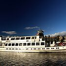 The Swan Steamer at Bowness on Windermere, Lake District by Stephen Frost
