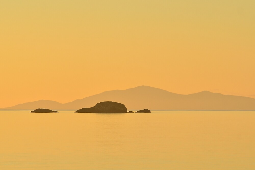 Sound of Raasay from Skye at Sunset by Stephen Frost
