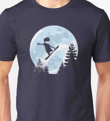 ET, E.T., moon, freeride, snowboard, E.T. the Extra-Terrestrial Unisex T-Shirt