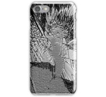 Black and White Abstract Digital Art iPhone Case/Skin